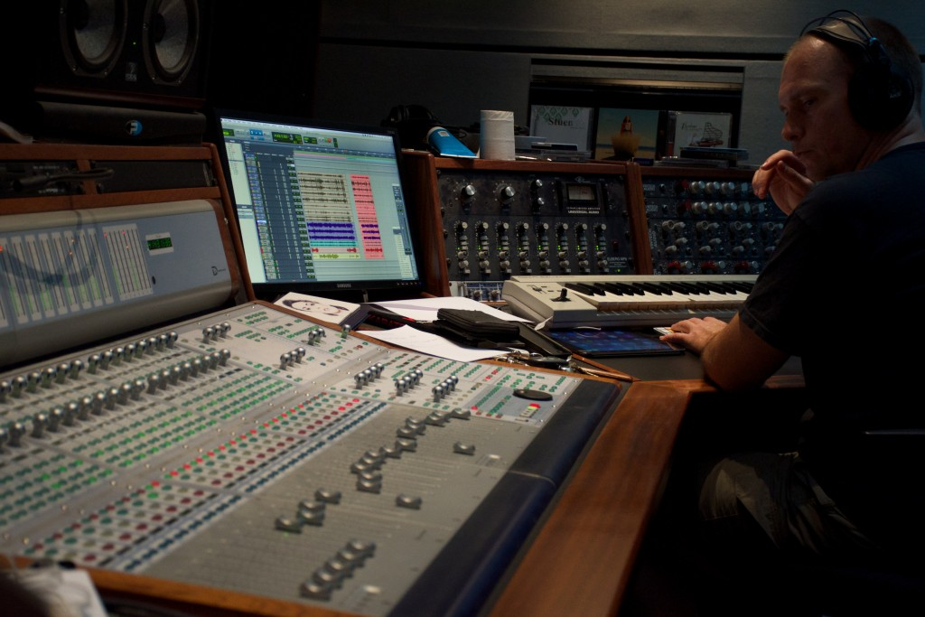 Boe Larsen - recording engineer at Mill Factory